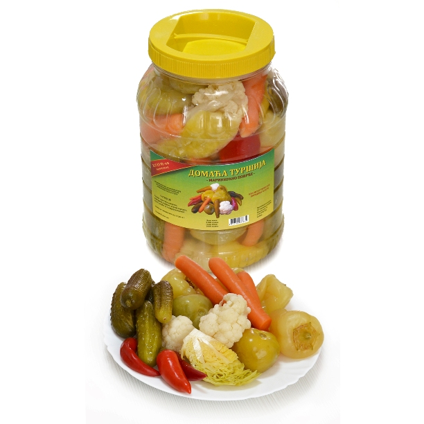 Homemade Tursija in Jars